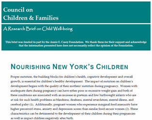 Nourishing New York's Children